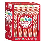 YumEarth Organic Candy Canes, Full Size, 10 Canes Per Pack - Allergy Friendly, Non GMO, Gluten Free, Vegan