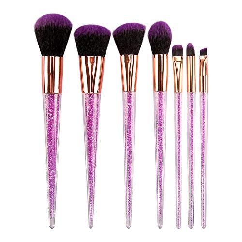 7 pcs Licorne Effacer Pinceau De Maquillage Set Professional Eye Makeup Brushes Pour fard À Paupières Correcteur Eyeliner Brosse Mélange Brosse Brosse à maquillage XXYHYQ
