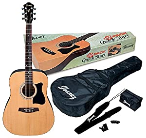 This is the Ibanez IJV50 Bundle with gig bag and strap