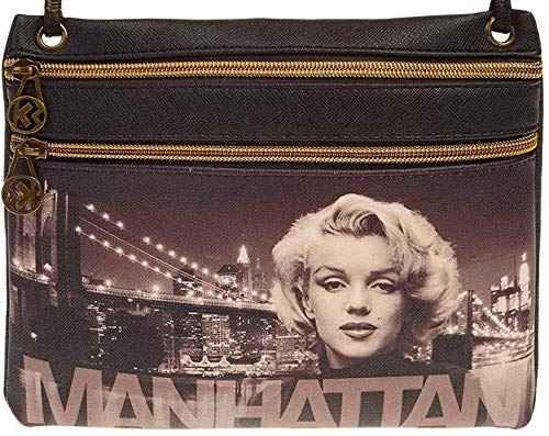 Marilyn Monroe Manhattan-Action Mini horizontale schoudertas