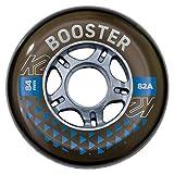 K2 Skates Unisex– Erwachsene Rollen Booster 84MM 82A 4-Wheel...