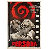 Jhmjqx Persona 1966 Vintage Retro Ingmar Bergman Schweden