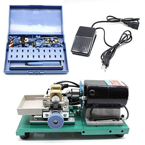 ZTBXQ Outils ménagers Set 60W Perle Perçage Holing Machine Gold Control Set Ensemble Complet Outil 110V Driller Bijoux Outils Kit Pearl Driller