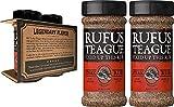 Rufus Teague - Steak Rub - Premium BBQ Rub - 6.2oz Bottle - 2 Pack