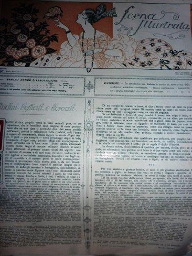 LA SCENA ILLUSTRATA Anno LXI Firenze 1 -15 Maggio 1925 Fascicolo Doppio