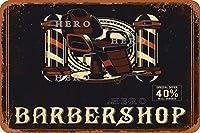 バーバーショップ30さびた錫のサインヴィンテージアルミニウムプラークアートポスター装飾面白い鉄の絵の個性安全標識警告アニメゲームフィルムバースクールカフェ40cm*30