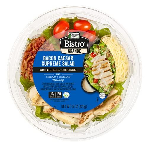 Ready Pac Foods Bacon Caesar Supreme Grilled Chicken Bistro Grande Salad , 15 oz