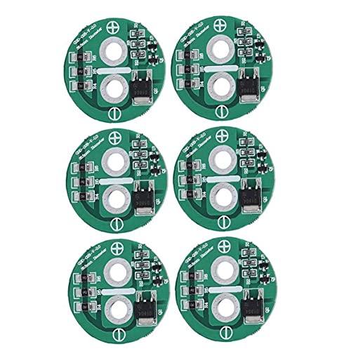 Tablero de protección del condensador 2.5V DISIPACIÓN DE CALOR LIMITADA TABLA DE EQUILIBLE DE VOLESTO 6PCS