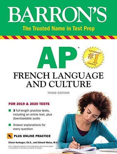 AP French Language and Culture with Online Test & Downloadable Audio (English Edition)