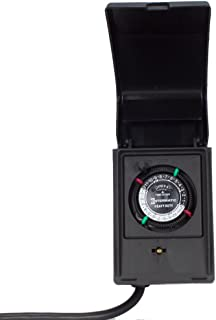 Intermatic P1121 Heavy Duty Outdoor Timer 15 Amp/1 HP for Pumps, Aerators, Heaters,..