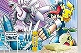 Pokemon Monster Baby Anime Wandpapier Ketchum Und Pikachu Wandbild Wanddruck Aufkleber Wandbilder (H)250*(B)175cm pro