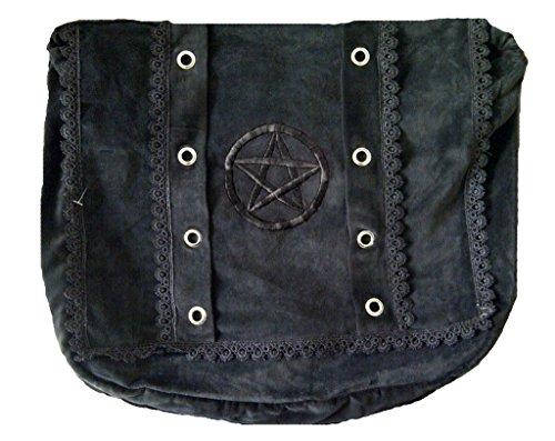 Bolsa de estilo gótico con pentagrama
