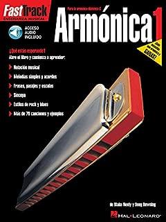 Fast Track Armonica 1 Harmonica (Book/Audio Spanish Edition) (Fast Track (Hal Leonard))