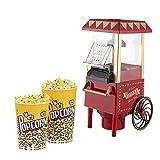 YFGQBCP palomitero Máquina de Palomitas de maíz, Aceite Caliente Cine Estilo Palomitas Hervidor Antiadherente, Bar, Restaurante, etc. Divertidos Gadgets