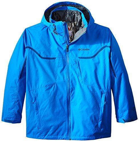 Columbia Sportswear Big Whirlibird Interchange Chaqueta para hombre, Hombre, 1558013, Hyper Azul/Grafito, 1 unidad