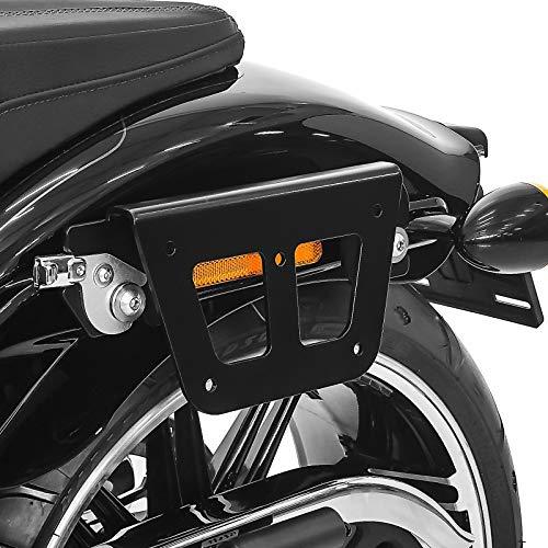 Telaio di supporto borse bisacce per Harley Softail Deluxe 18-20 sinistra QL