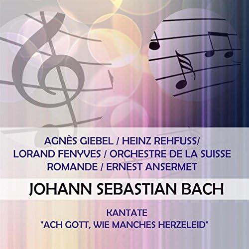 Agnès  Giebel, Heinz Rehfuss, Lorand Fenyves & Orchestre de la Suisse Romande