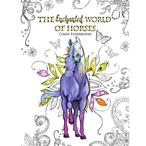Horse Coloring Book: Amazon.co.uk