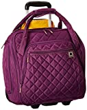 DELSEY Paris Rolling Under Seat Tote Bag, Purple, One Size