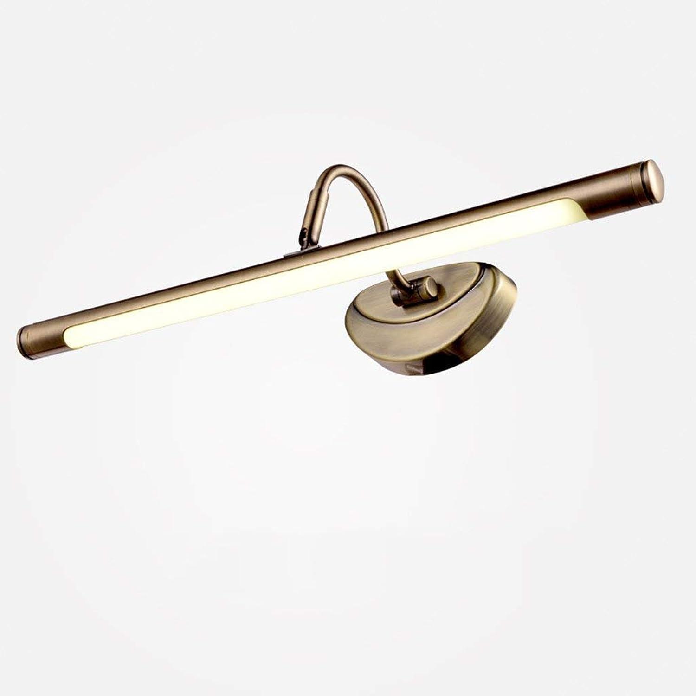 YNG Spiegel-Licht-Retro- Garten-Spiegel-Lampe, geführtes Spiegel-Licht, geführtes europäisches Art-Kabinett-Licht-Badezimmer-Badezimmer-Spiegel-Licht, Das Tischlampe Kleidet B07G3815YH | Jeder beschriebene Artikel ist verfügbar