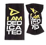 Dedicated Nutrition Gym Handtuch Fitnesshandtuch Towel Fitness Workout Bodybuilding Training Trainingshandtuch - 2