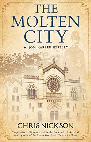 Molten City (A Tom Harper Mystery Book 8) by [Chris Nickson]