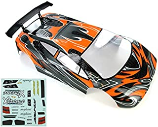 Redcat Racing Road Car Body (1/10 Scale), Orange/Black