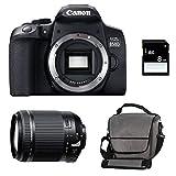 KIT CANON EOS 850D + TAMRON 18-200 VC + Sac + Carte SD 4Go