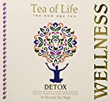 Tea of Life Detox, 50 Round Tea Bags 2.6oz