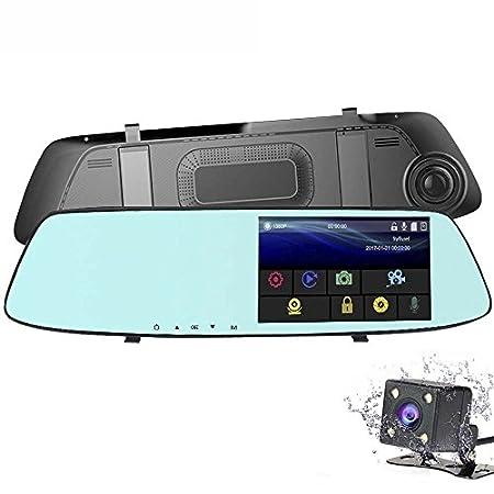 【5/9まで大値下げ!】VOKUA バックカメラ付属、タッチパネル5インチ大画面液晶搭載ドライブレコーダー 990円!2000円以上 or プライム会員は送料無料!