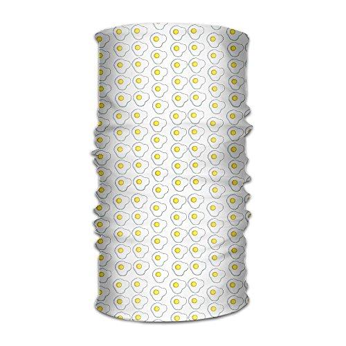 Stirnband Bandanas Egg Eigelb vielseitig Sport Magic Schal Halstuch Sturmhaube Helm Liner Reiten Gesichtsmaske für Kinder Frauen Herren Outdoor UV-Schutz
