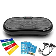 Bluefin Fitness Ultra Slim Vibration Plate   Lose Fat & Tone Up at Home   5 Programs + 180 Levels   ...