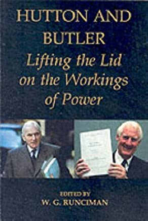 Hutton and Butler: Lifting the Lid on the Workings of Power (British Academy Occasional Papers) by Unknown(2005-01-06)