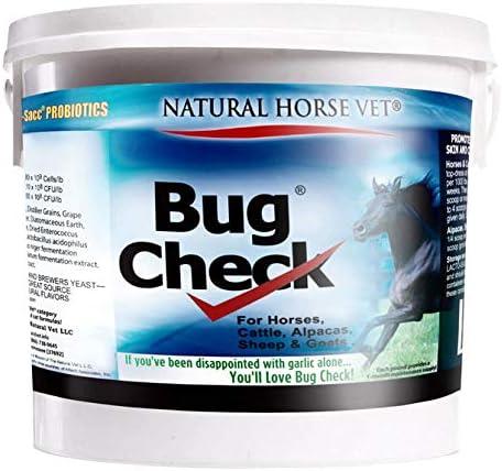 Natural Horse Vet Bug Check. Branded goods Sale Ca Feed-Thru for Supplement Horses