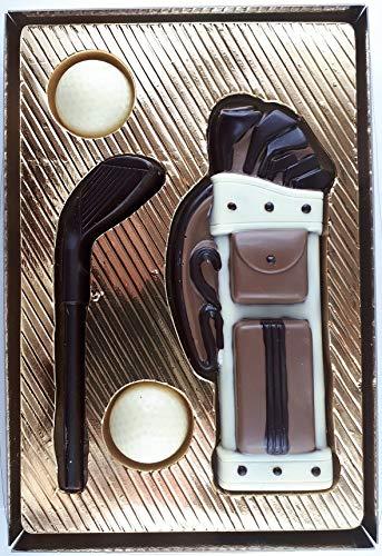 08#031521 Schokoladen Golf Set, im Geschenkkarton, Golfer, Golfspieler,Muttertag, Geburtstag, Geschenke, Geschenk, NEU …