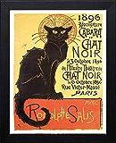 L Lumartos Vintage Poster Cabaret Du Chat Noir Paris,