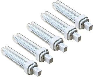 comprar comparacion Pack 5 Bombillas Aigostar 183646 LED PLC 2U 12W Bombilla LED Maiz G24 6400K Clase de eficiencia energética A+