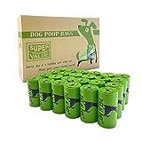 PET N PET Poop Bags Biodegradable 24 Rolls/360 Bags Dog Waste Bags Unscented Leak-Proof Easy Tear-Off
