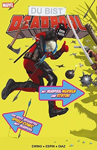 Du bist Deadpool - Der interaktive Spiele-Comic: Mit Deadpool-Würfeln und Stiften