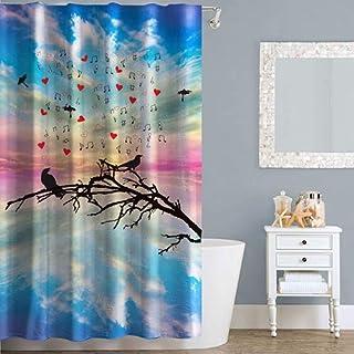 Right Canvas Multi Color 180cm x 200cm Shower Curtain - RG138NPIC00078