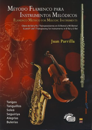 PARRILLA J. - Metodo Flamenco para Instrumentos Melodicos (Inc.CD)