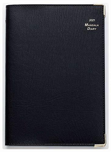 2021年 マンダラ手帳(A5サイズデスク ブラック)