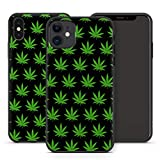 Handyhülle Cannabis Bang für Apple iPhone Silikon MMM Berlin Hülle Marihuana Weed Gras Hanf Canabis, Hüllendesign:Design 5 | Silikon Schwarz, Kompatibel mit Handy:Apple iPhone Xr