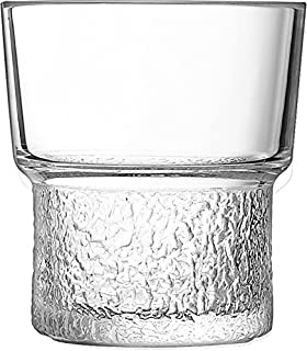 Arcoroc ARC L3675 Disco Lounge Whiskyglas, 260ml, Glas, transparent, 6 Stück