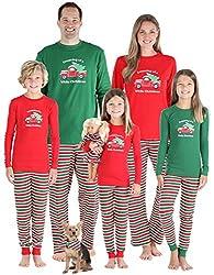 43be278184c SleepytimePjs Family Matching Sleepwear Knit Striped Pajamas PJ Sets