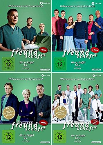 In aller Freundschaft - Die komplette Staffel 19+20 (19.1-20.2) im Set - Deutsche Originalware [22 DVDs]