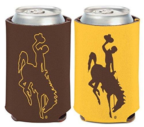 Wincraft NCAA University Wyoming Cowboys 1 Pack 340 ml 2-seitiger Dosenkühler