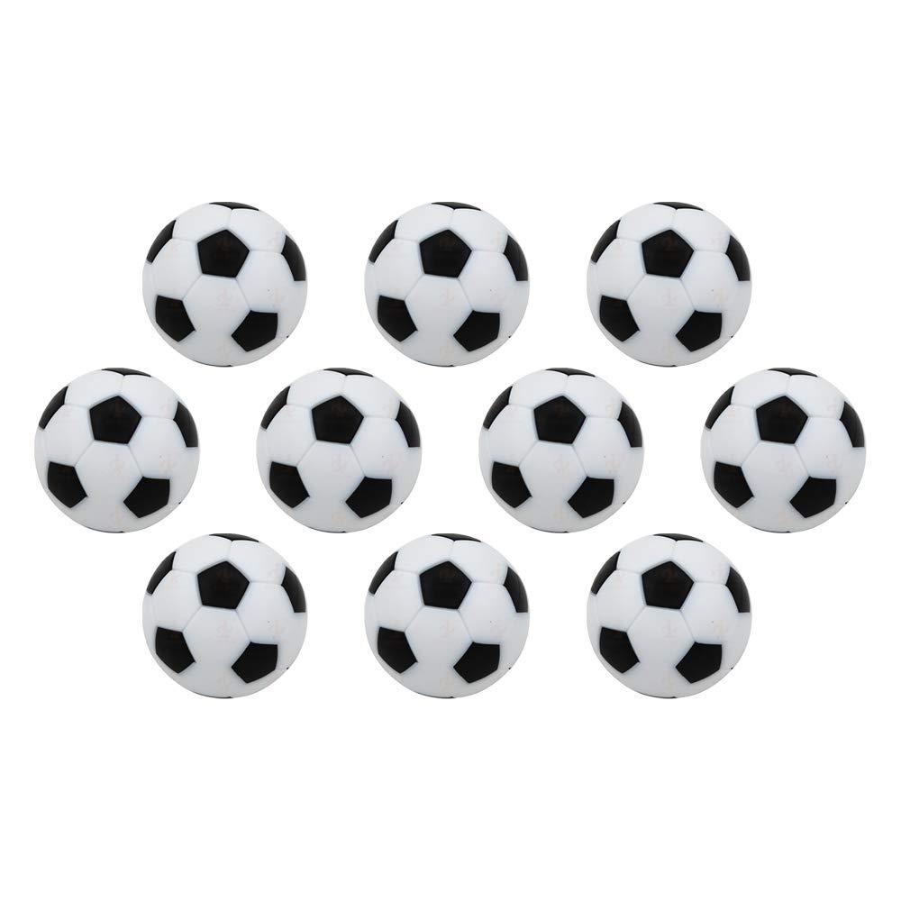 AZXAZ Mesa Futbolín Balones fútbol Mini Bola de Reemplazo de ...