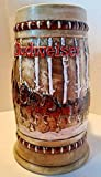 Budweiser Holiday Steins Collectible Holiday Stein Series (Year 1981)