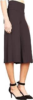 Howely Women Wide Leg Pants Empire Waist Casual Weekend Bermuda Shorts